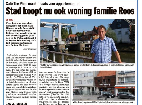 Stad koopt nu ook woning familie Roos