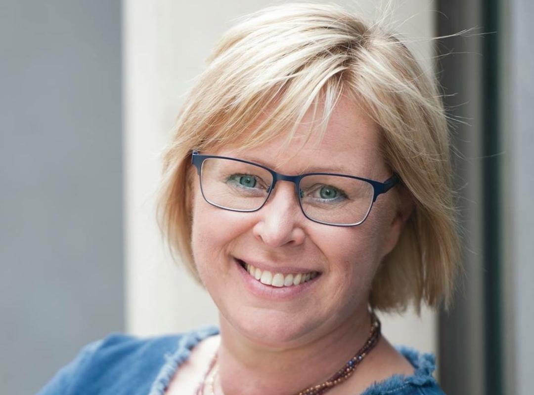 Raadslid Sabine Vermeulen met een mooie glimlach
