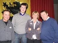 Eric De Neve -  voorzitter N-VA Deinze, Peter Dedecker, Sabine Vermeulen – OCMW-