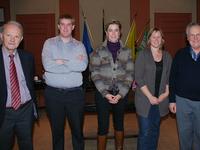 de voltallige N-VA-fractie in de gemeenteraad