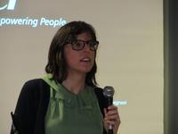 Sarah Smeyers is een aangename spreker