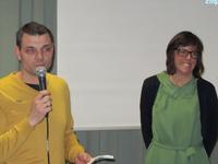 interactieve vraagstelling met moderator en voorzitter Peter Broeren